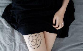Halden tatovering