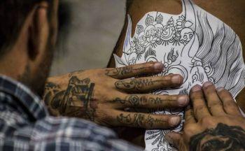 Steinkjer tatovering
